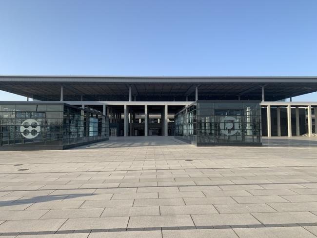 Berlin-Brandenburg Airport exterior
