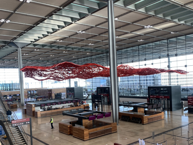Berlin-Brandenburg Airport terminal 1