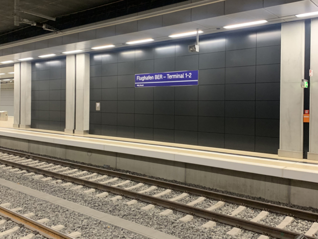 Berlin-Brandenburg Airport train station