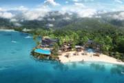 Mango House Seychelles LXR Hilton render