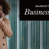 Marriott Business Ready woman