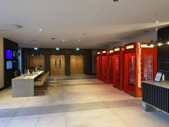 Radisson Heathrow Hotel lobby
