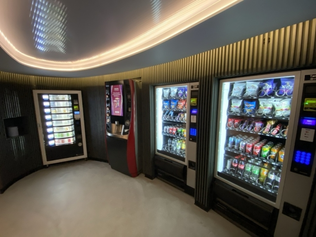 Radisson Heathrow Hotel vending machines