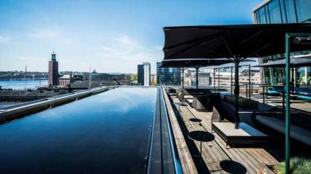 Scandic Continental Stockholm rooftop bar