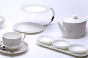 William Edwards crockery British Airways First class