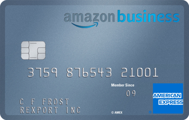 Amazon Business Prime silver card