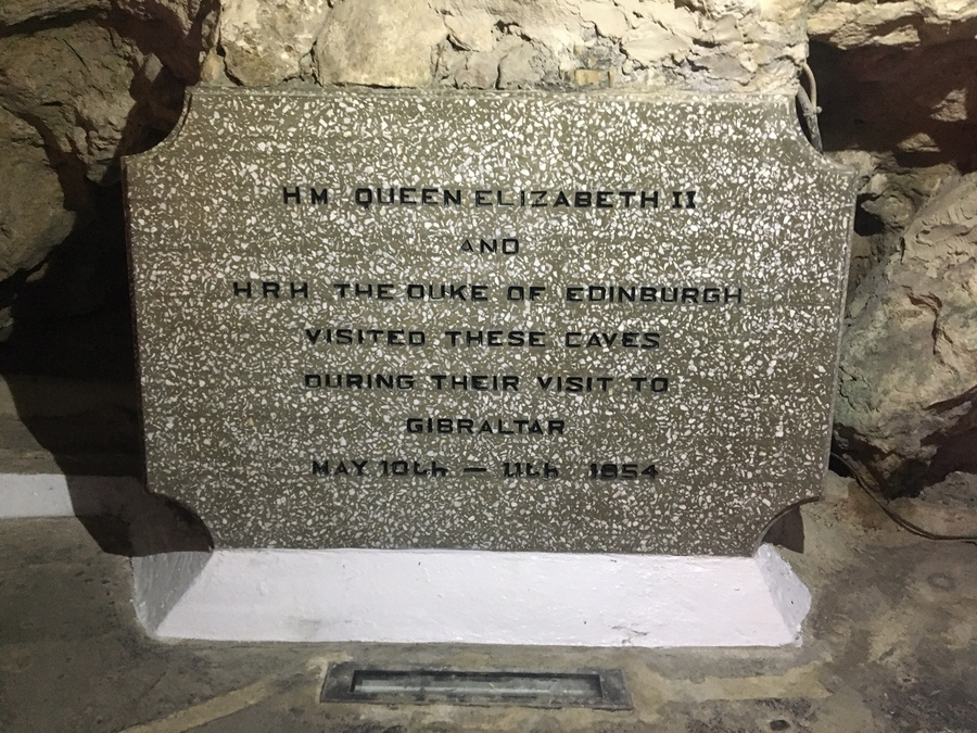 66 years ago in St Michaels Cave Gibraltar
