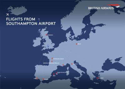 BA CityFlyer flights Southampton summer 2021