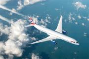 British Airways BA A350 in flight