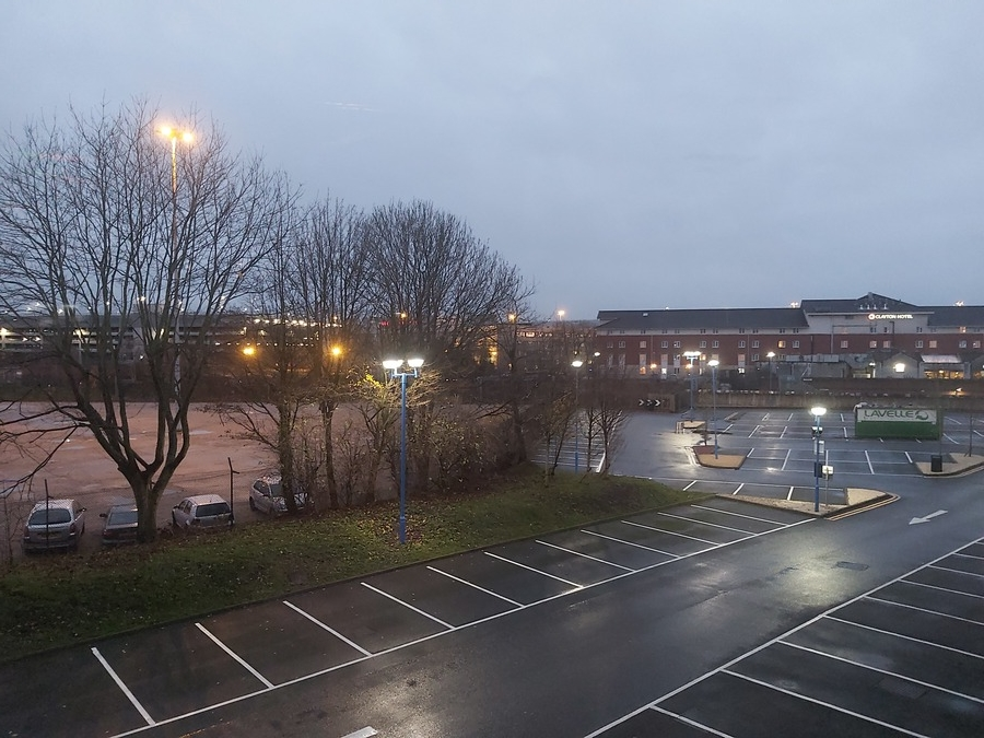 DoubleTree Manchester Airport view