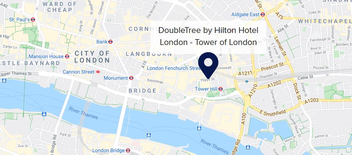 Doubletree Tower of London Hilton hotel