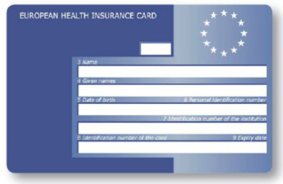 EHIC card will continue in 2021