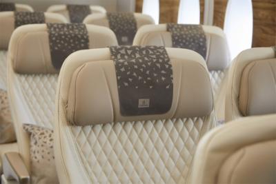 Emirates premium economy seat