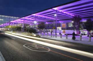 Heathrow Terminal 3 forecourt