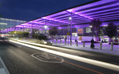 Heathrow Terminal 3 forecourt