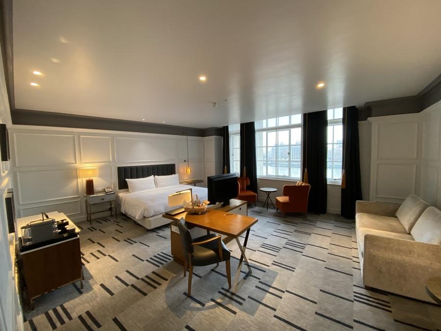 London Marriott County Hall Executive guest room