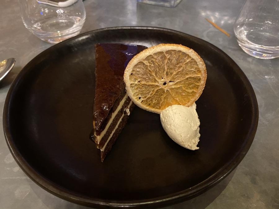 London Marriott County Hall Gillrays jaffa cake
