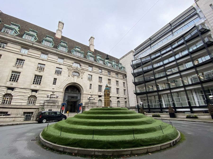 London Marriott County Hall courtyard