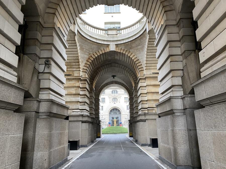 London Marriott County Hall entrance