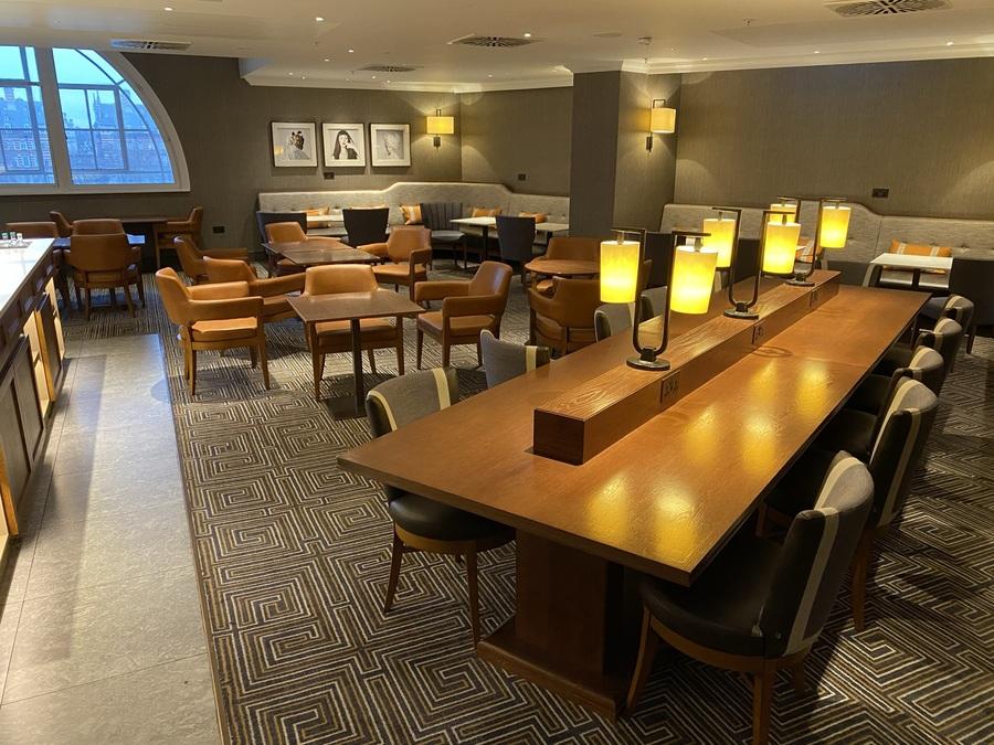 London Marriott County Hall executive lounge