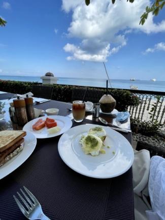 Park Hyatt Zanzibar breakfast