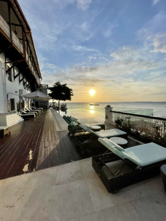 Park Hyatt Zanzibar deck