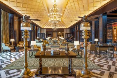 St Regis Cairo lobby