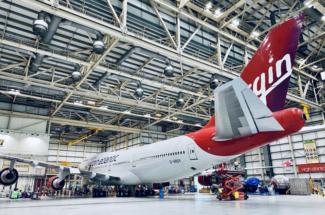 Virgin Atlantic 747 Pretty Woman G-VROY