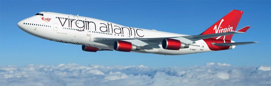Virgin Atlantic 747 narrow