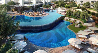 W Algarve pool rendering
