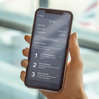 British Airways VeriFLY digital health passport 2