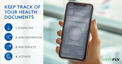 British Airways VeriFLY digital health passport 3