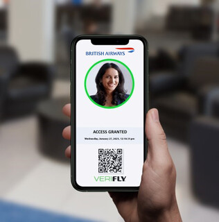 British Airways VeriFLY digital health passport