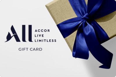 10% bonus on Accor gift cards