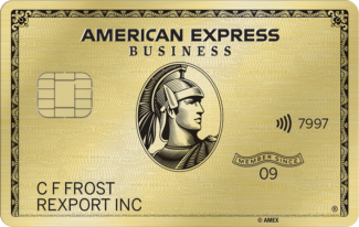 Amex American Express Business Gold card