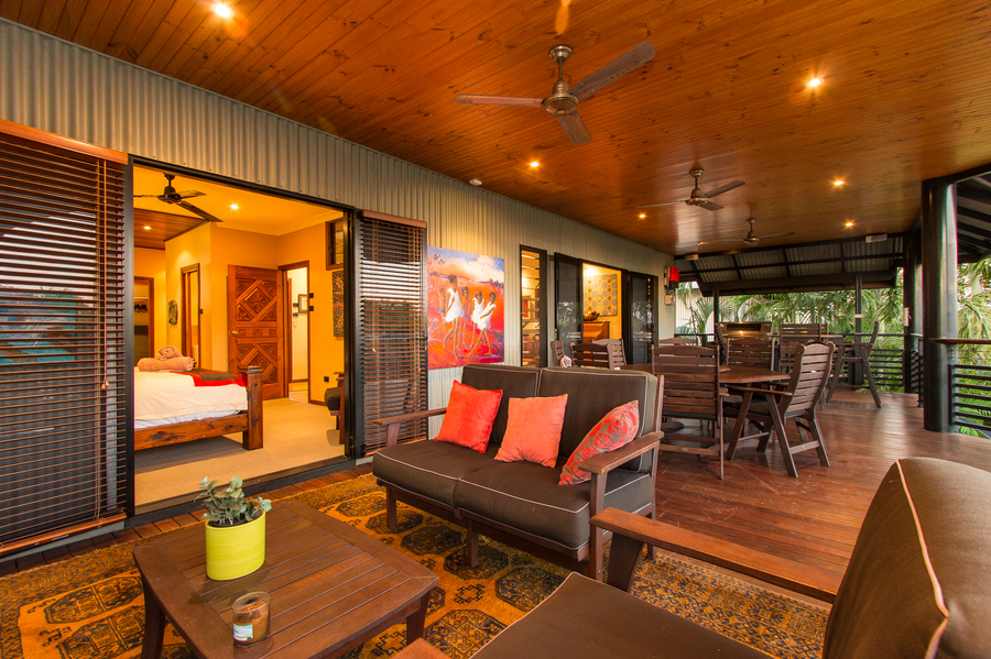 Australia veranda and master bedroom