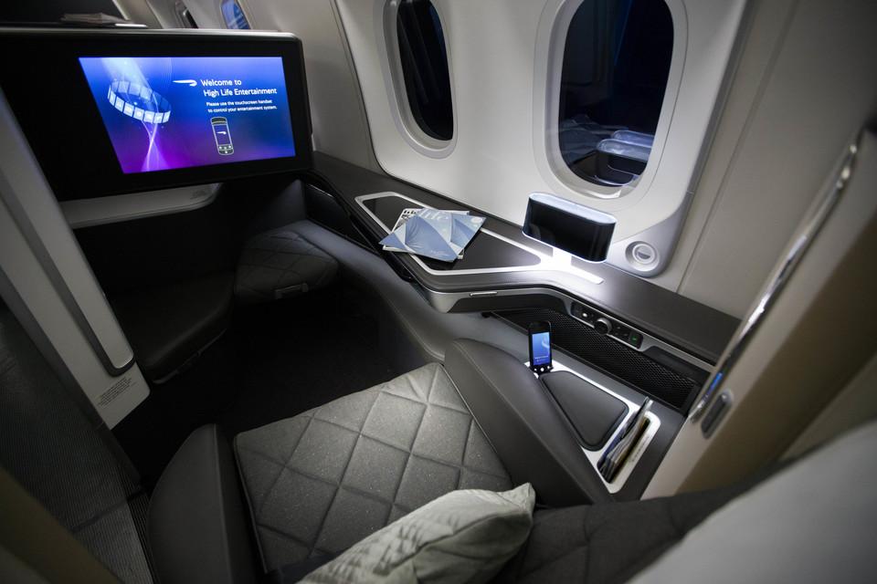 BA British Airways 2015 first class seat