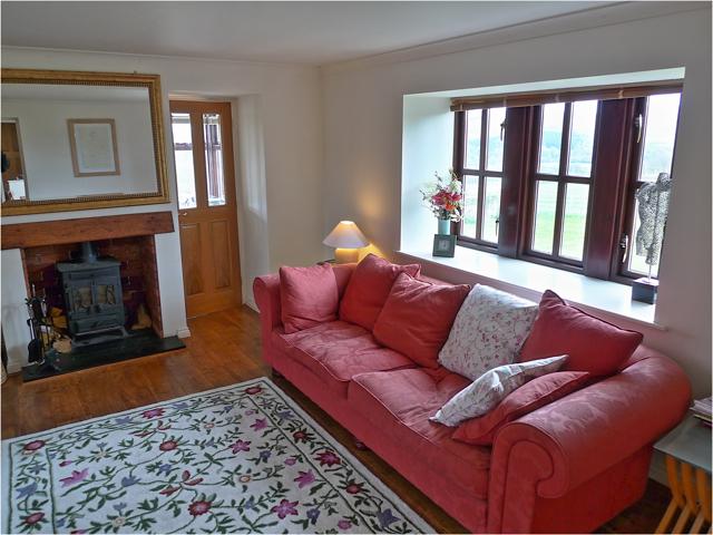 Peak District sitting room
