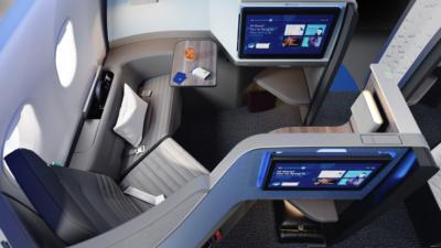 JetBlue A321LR Mint Studio seat 2