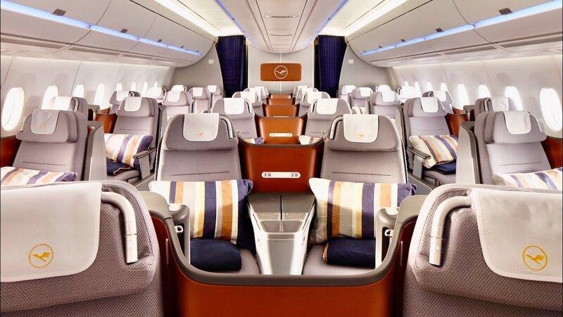 Lufthansa A350 business class sale