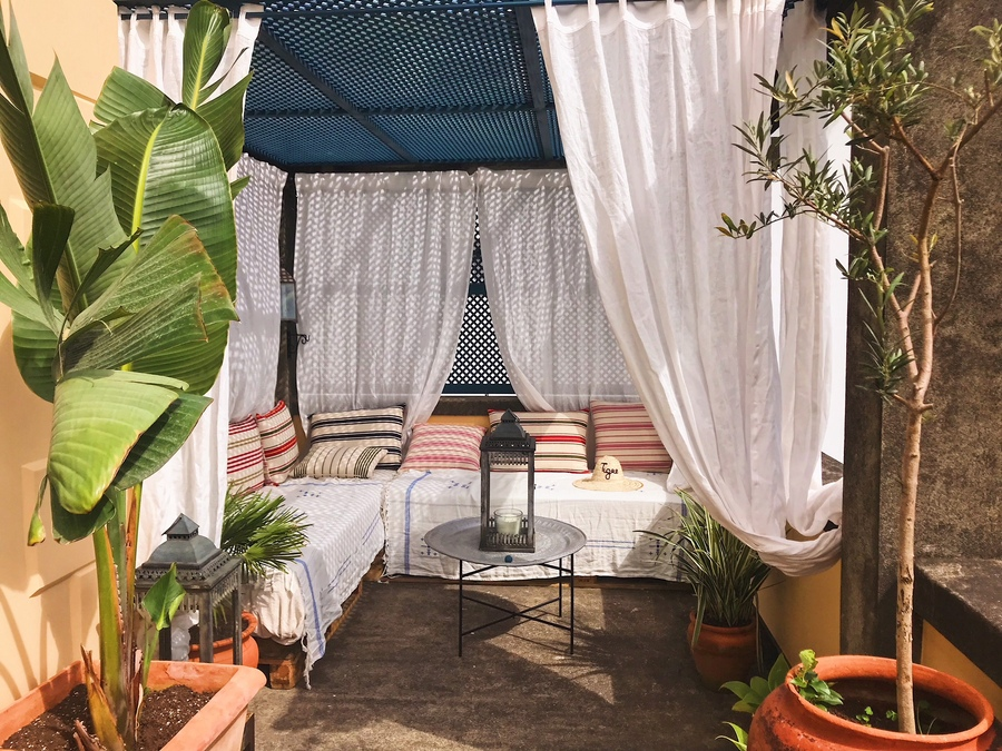 Madeira moroccan rooftop