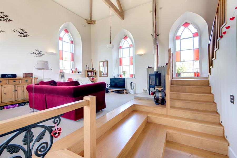 Peak District living space