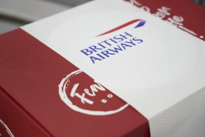 British Airways Feast Box First Class meal kit