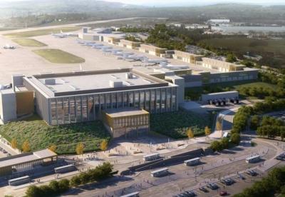 Leeds Bradford Airport new terminal building