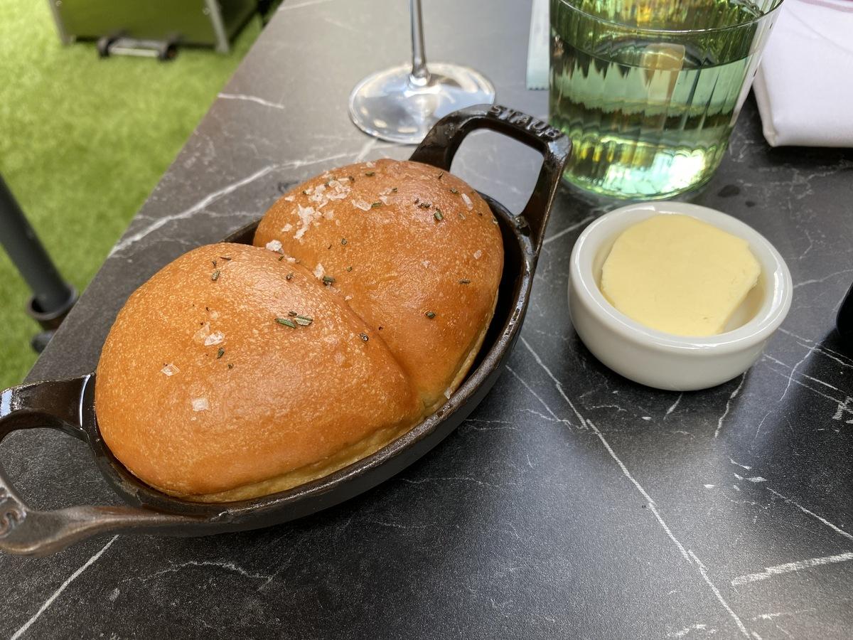 JW Marriott Grosvenor House forecourt bread