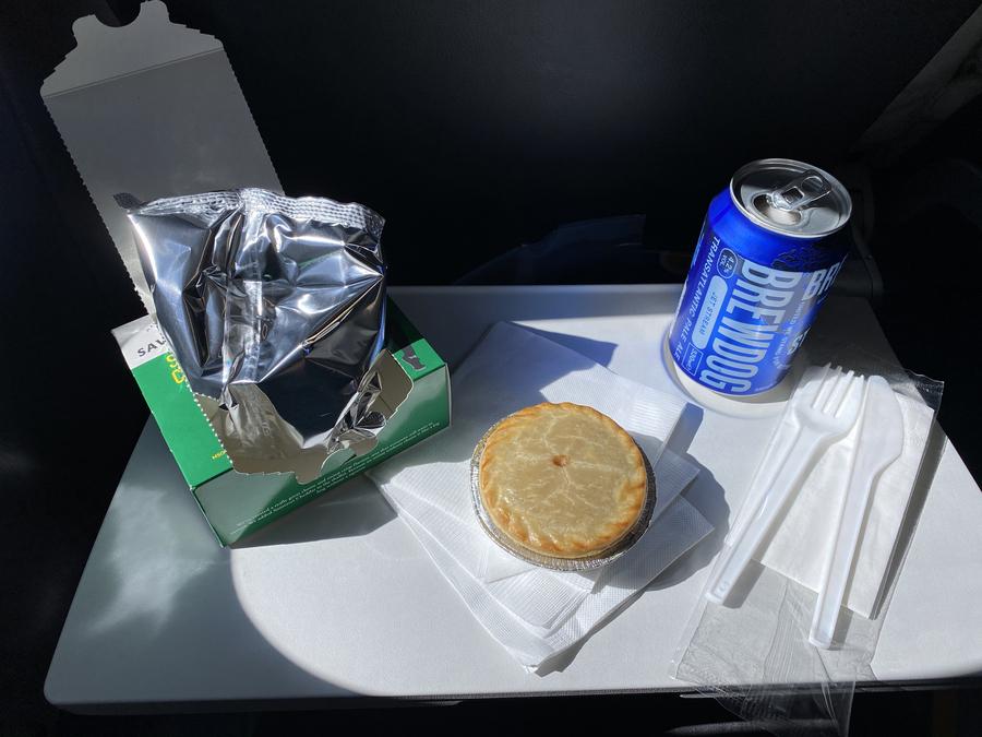 Speedbird Cafe Tom Kerridge British Airways crisps