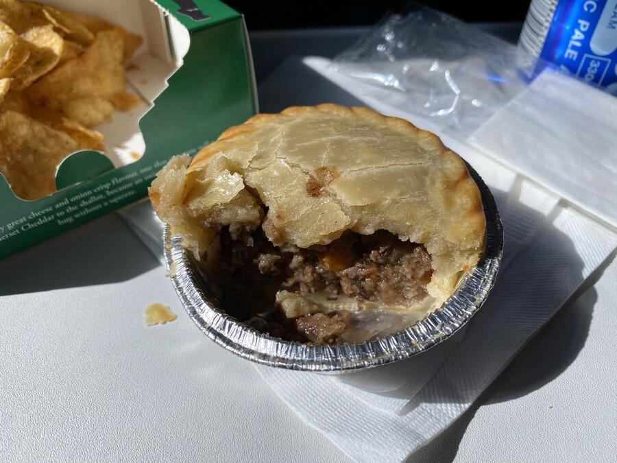 Speedbird Cafe Tom Kerridge British Airways steak ale pie