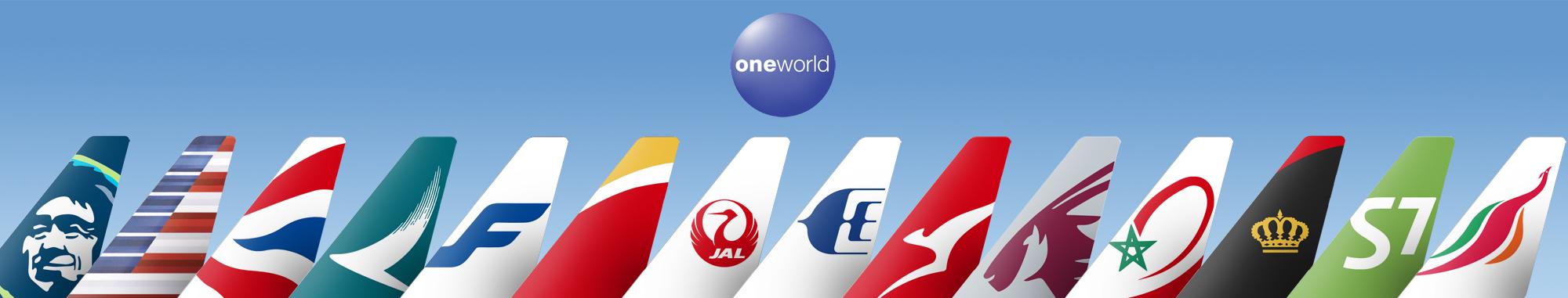 oneworld tailfins