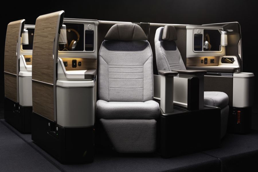 Adient Ascent business class seat
