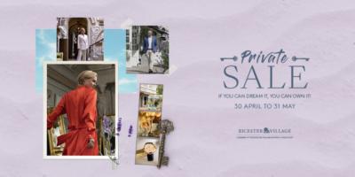 Bicester Village private sale
